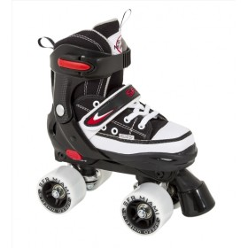 SFR Miami Adjustable Quad Roller Siyah Paten